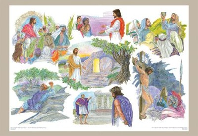 Holy Week, Bulletin Board    -