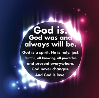 God Is, Bulletin Board    -