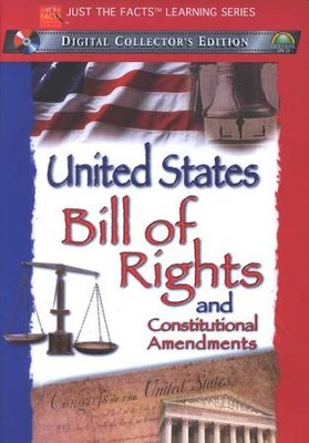 Just The Facts Learning Series: United States Bill of Rights and Constitutional Amendments, DVD  -