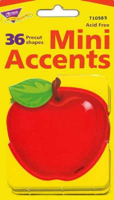 Shiny Red Apple Mini Classic Accent  -