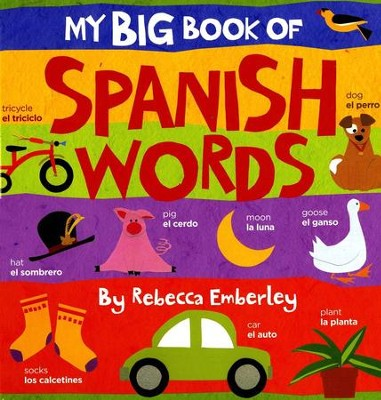 My Big Book of Spanish Words  -     By: Rebecca Emberley