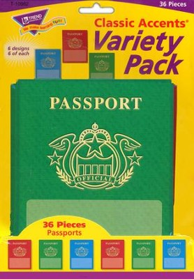 Passports Variety Pack Classic Accent  -