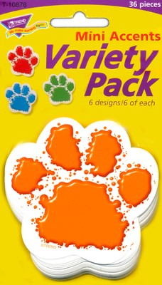 Paw Print Mini Variety Pack Classic Accent  -