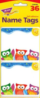 Owl-Stars! Name Tags  -