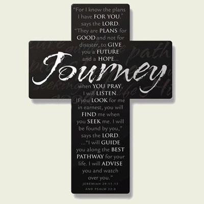 Journey Metal Wall Cross   -
