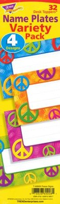 Peace Signs Desk Toppers Value Pack  -