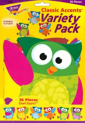 Owl-Stars! Variety Pack Classic Accent  -
