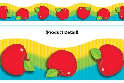 Shiny Red Apples Terrific Trimmers  -