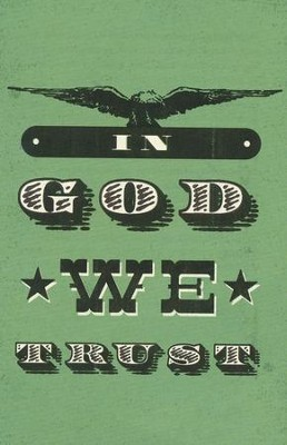 In God We Trust, Pack of 25 Tracts  -