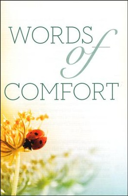 Words of Comfort (KJV), Pack of 25 Tracts   -