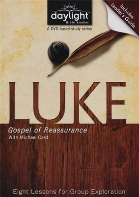 Luke: Gospel Of Reassurance, DVD with Leader's Guide   -