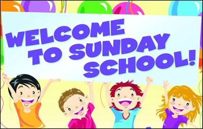 Welcome to Sunday School, Postcards, 25  -