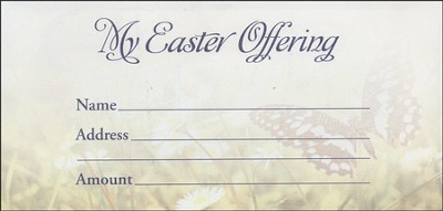 He Has Been Risen Offering Envelopes, 100     -