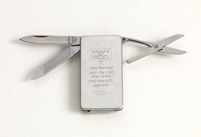 Man of God Money Clip  -