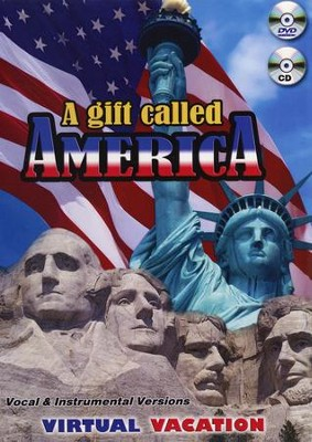 A Gift Called America, DVD and CD  -     By: David & The High Spirit