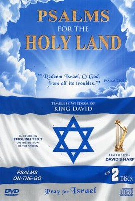 Psalms for the Holy Land DVD/CD   -     By: David & The High Spirit