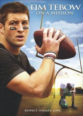 Tim Tebow: On a Mission, DVD   -