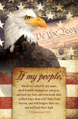If My People Bald Eagle (2 Chronicles 7:14) Bulletins, 100   -