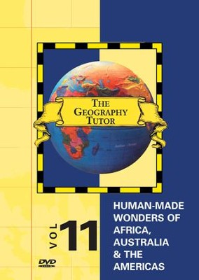 Geography Tutor: Human-Made Wonders of Africa, Australia & Americas DVD  -