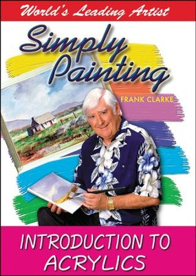 Simply Painting: Introduction to Acrylics DVD  -