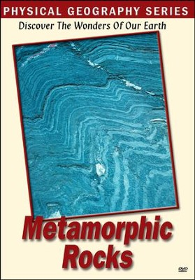 Physical Geography: Metamorphic Rocks DVD  -
