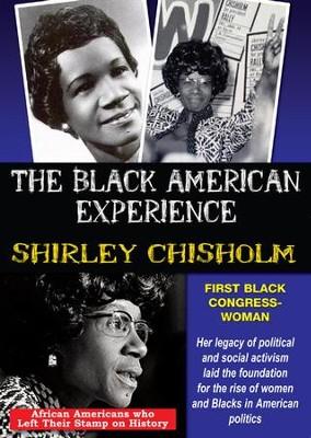 Shirley Chisholm: First African American Congresswoman DVD  -