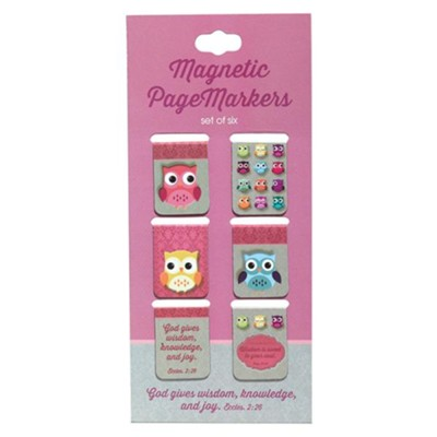 Owl, Wisdom For the Soul Bookmarks, Set of 6  -
