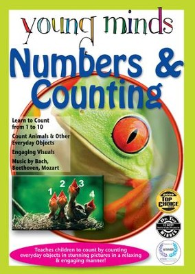 Young Minds: Numbers & Counting Math Tutor DVD  -