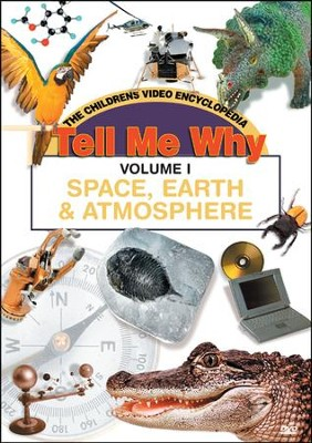 Tell Me Why: Space, Earth and Atmosphere DVD  -