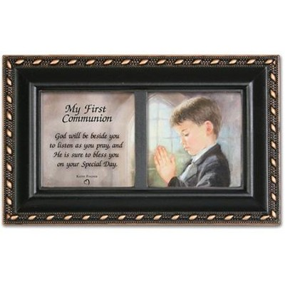 My First Communion, Boy, Music Box  -
