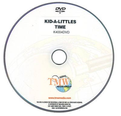 Kid-a-Littles: Planning Your Time DVD  -