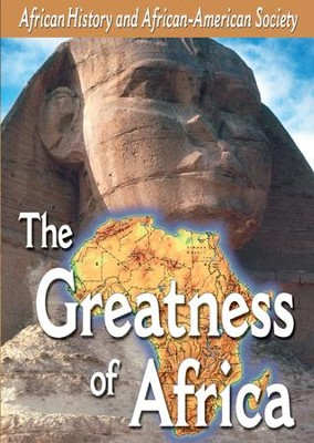 African-American History: The Greatness of Africa DVD  -
