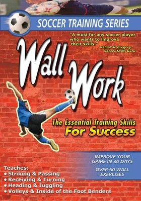 Soccer Training Wall Work DVD  -