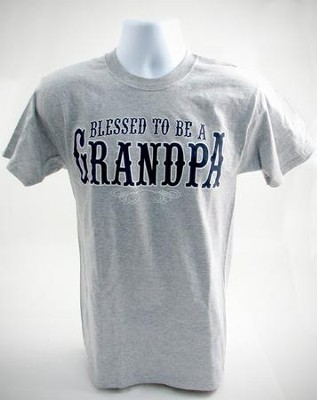 Blessed to Be A Grandpa, Small Tee Shirt  -
