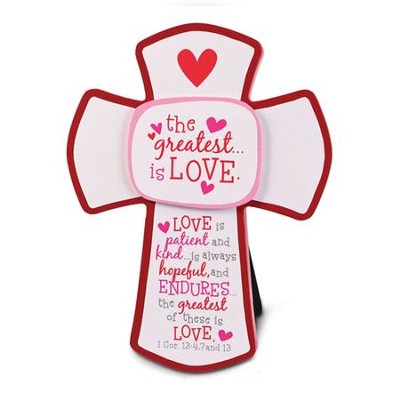 The Greatest is Love Cross  -