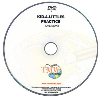 Kid-a-Littles: Training & Practice DVD  -