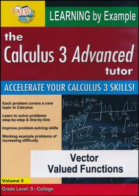 Vector Valued Functions DVD  -