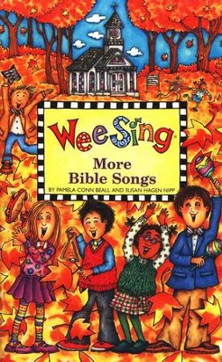 Wee Sing More Bible Songs, Book and CD Pack    -     By: Pamela Conn Beall, Susan Hagen Nipp
