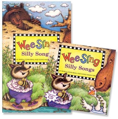 Wee Sing Silly Songs, Book & CD  -     By: Pamela Conn Beall, Susan Hagen Nipp