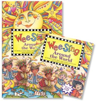 Wee Sing Around the World--Book & CD   -     By: Pamela Conn Beall, Susan Hagen Nipp
