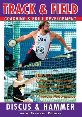Track & Field: Discus & Hammer With Stewart Togher DVD  -