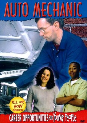 Tell Me How Career Series: Auto Mechanic DVD  -
