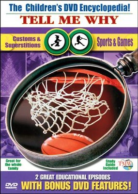 Tell Me Why: Customs & Superstitions & Sports & Games DVD  -