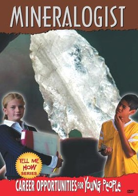 Tell Me How Career Series: Mineralogist DVD  -