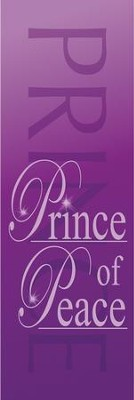 Prince of Peace Fabric Banner (2' x 6')   -