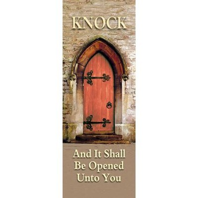 Knock Fabric Banner (2' x 6')   -