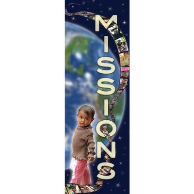 Missions Fabric Banner (2' x 6')   -