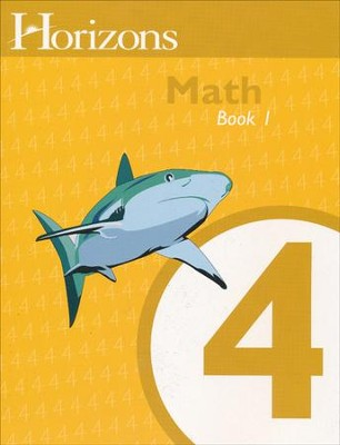 Horizons Math, Grade 4, Student Workbook 1   -     By: Alpha Omega