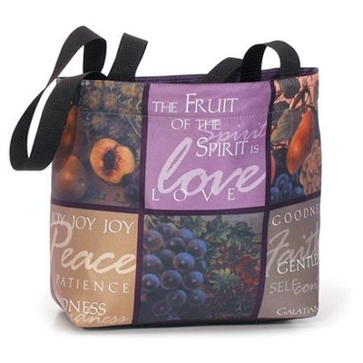 Fruit of the Spirit--Tote Bag   -     By: Glynda Turley