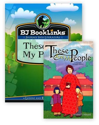 BJU Reading Grade 3 BookLinks: These Are My People (lesson plans only)  -